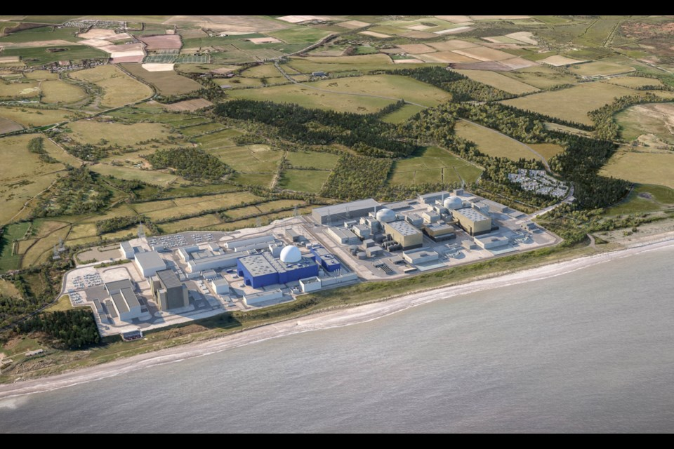 The business and education leaders have written to the government in support of the proposed Sizewell C nuclear power station Picture: EDF