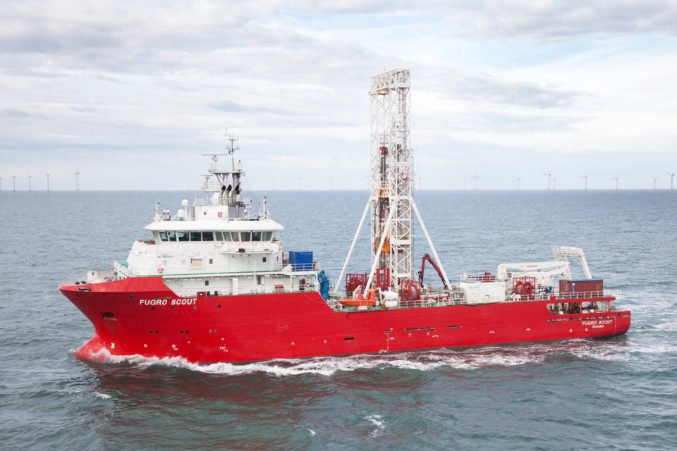 Fugro Scout Vessel_Geotechnical Vessel_