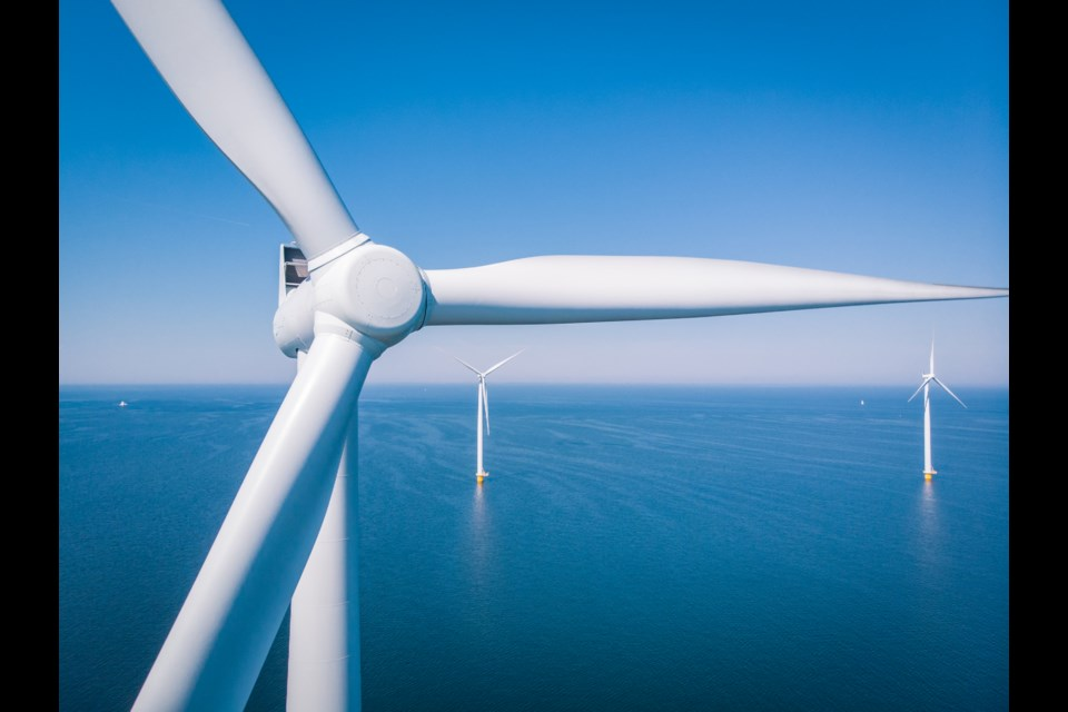 A revolution is happening off the Norfolk and Suffolk coasts, as new, clean energy is set to revolutionise how Britain powers its homes. Picture: Getty Images