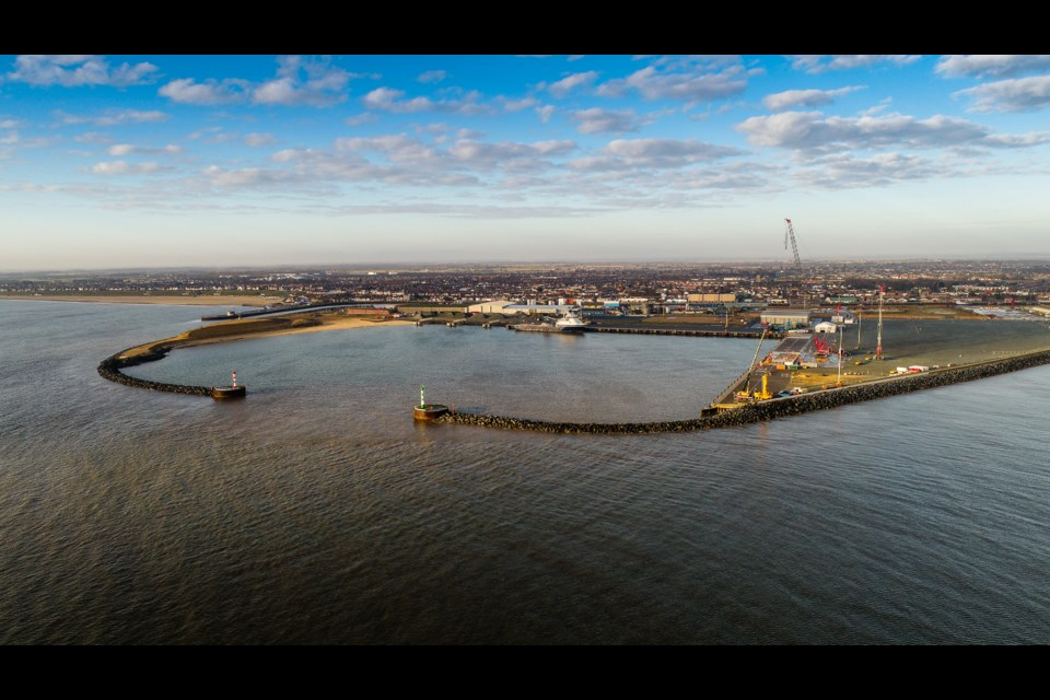 The Port of Great Yarmouth, which has more than 50 years' experience in delivering major offshore projects, has already invested approx. £12 million upgrading its quays, equipment and storage areas to support the industry.  Picture: Peel Ports