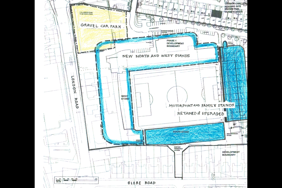 Could the current Posh site support a upgraded stadium?